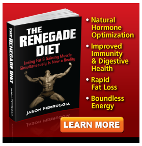 Renegade diet ebook picture and description.