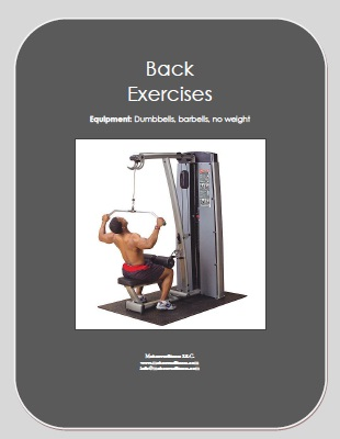 Free e-book of back exercises.