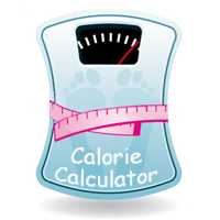 Illustration of a calorie needs calculator.