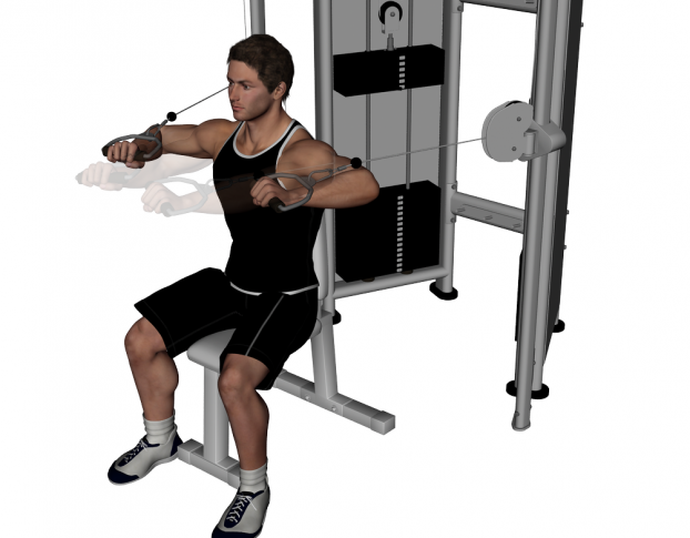 exercise machine for chest