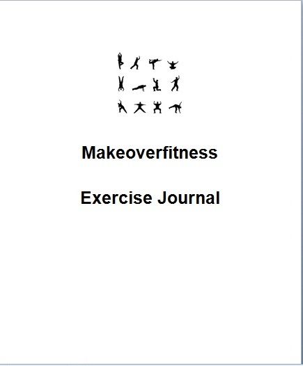 Printable exercise journal booklet.