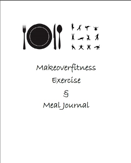 Printable food and exercise journal.
