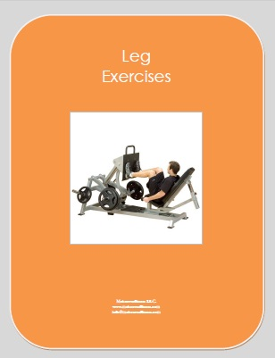 Leg exercises e-book.