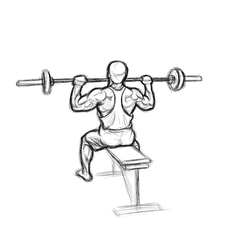 Seated Barbell Shoulder Press Vs Standing: Seated Barbell Shoulder Press Vs Standing