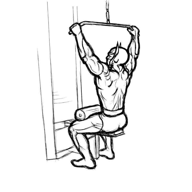 The gallery for --> Cable Wide Grip Tricep Pulldown  Tricep Pulldown Vs Pushdown
