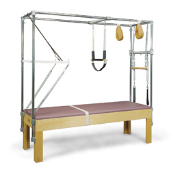 Great pilates exercises you can do using the cadillac apparatus.