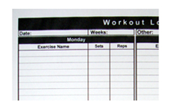 Workouts routines using the single system method.