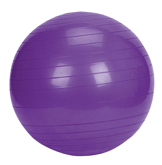 Picture of a stability ball you can exercise on.