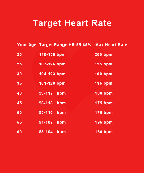 Printable Heart Rate Charts